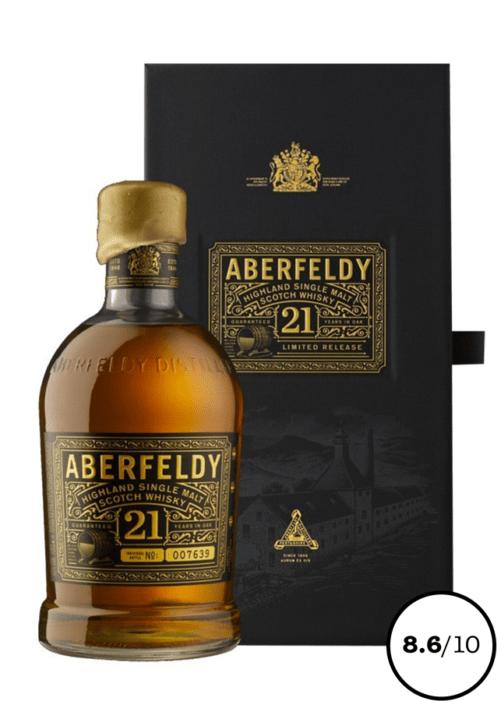 whisky single malt 21 ans
