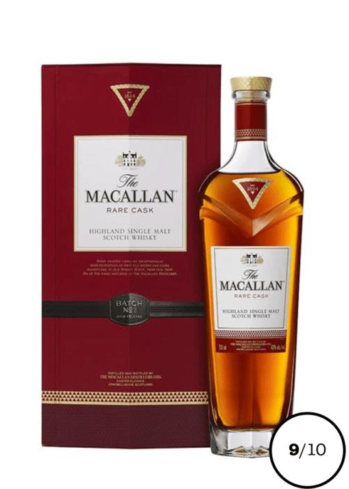 single malt macallan rare cask