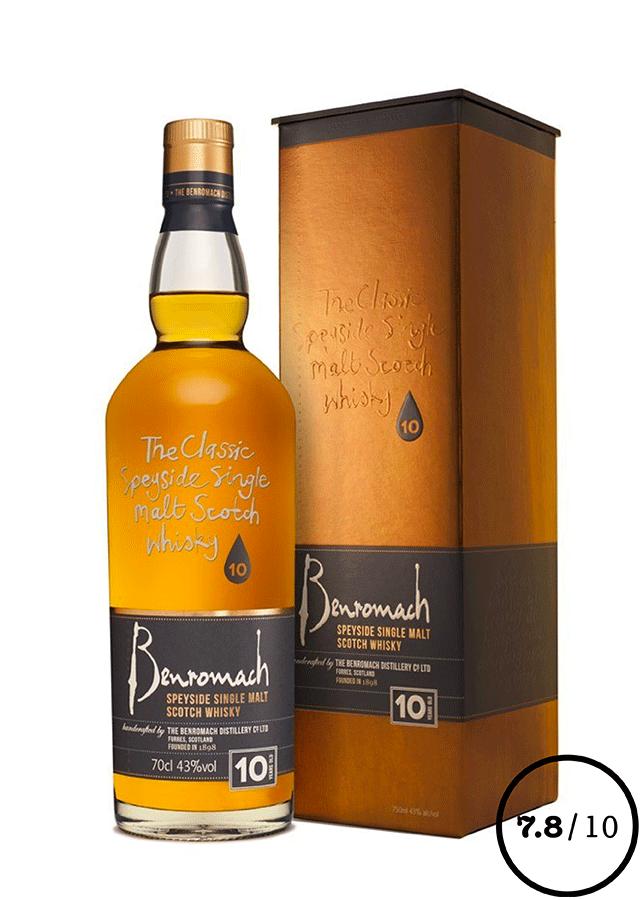 whisky speyside benromach