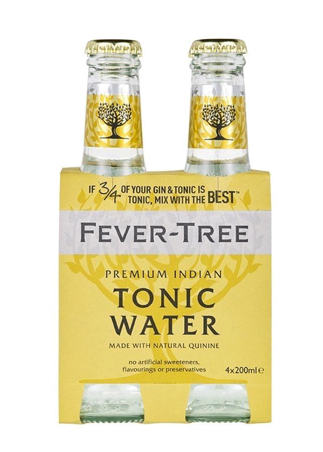 fever tree tonic en pack de 4