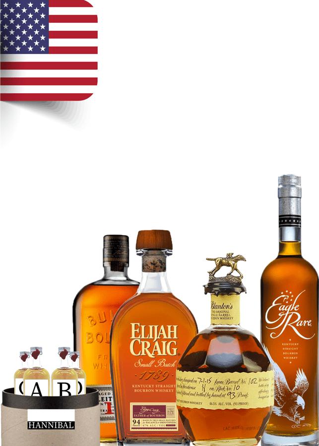 Coffret bourbon USA