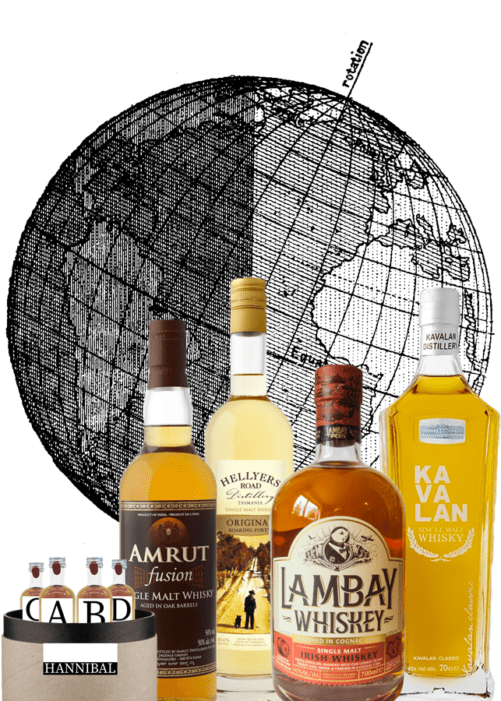 coffret whiskies du monde