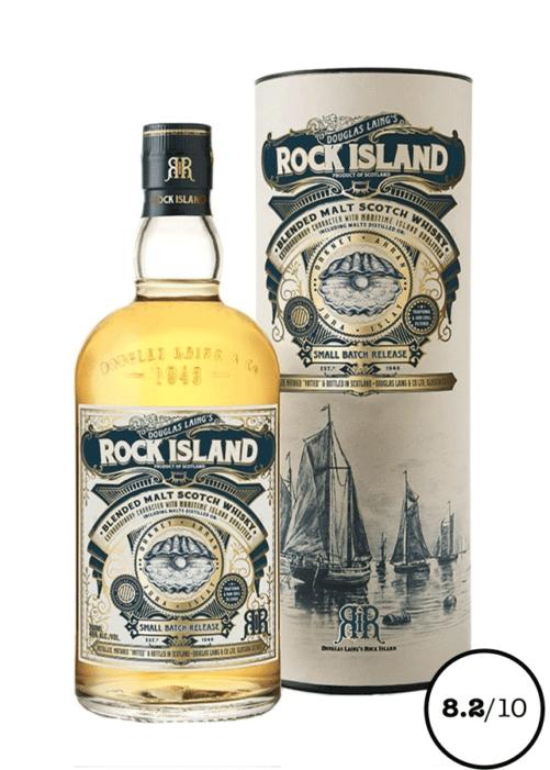 blended malt whisky rock island
