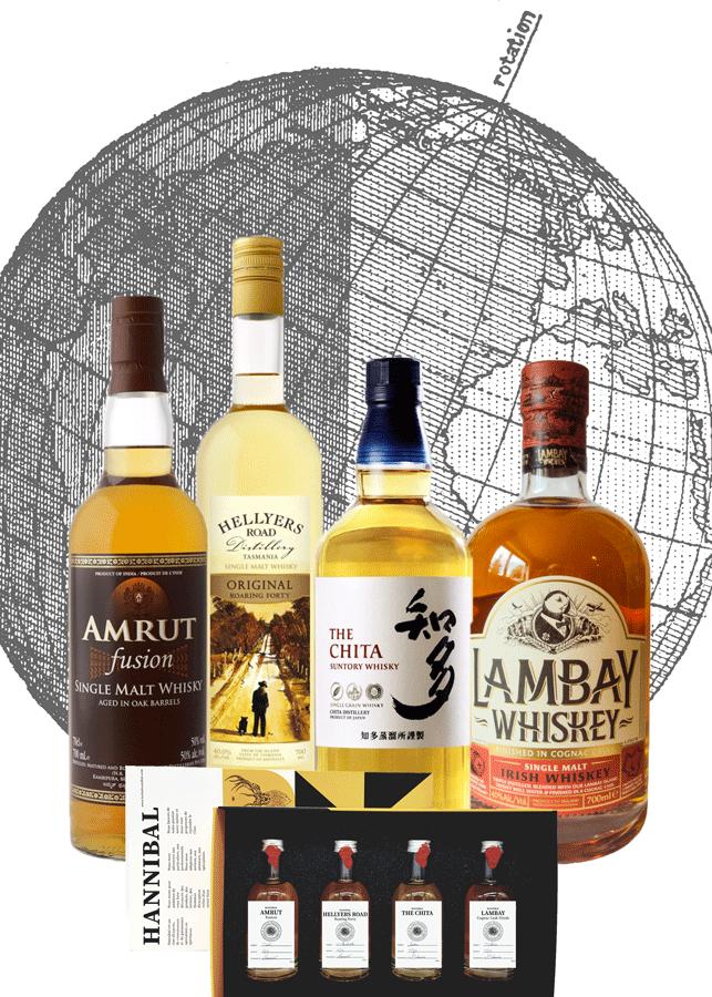 coffret whisky autour du monde