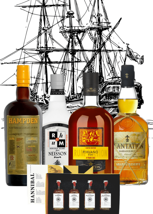 rum tasting box