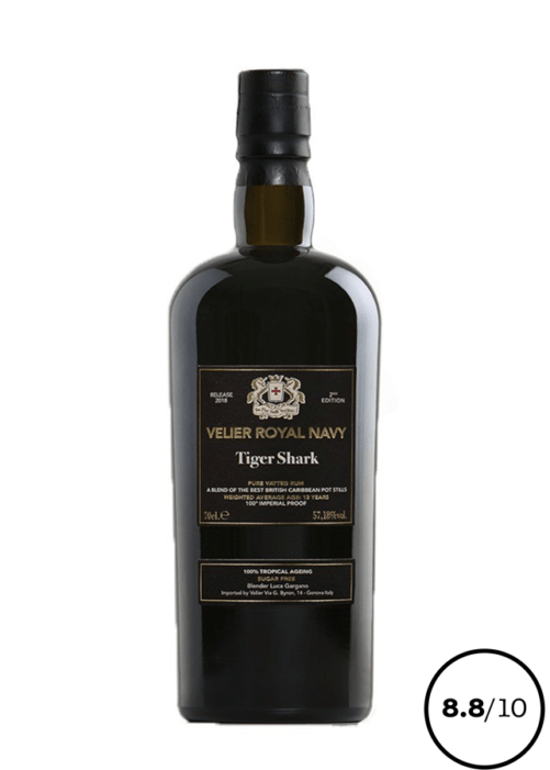 rum caraibe velier tigershark