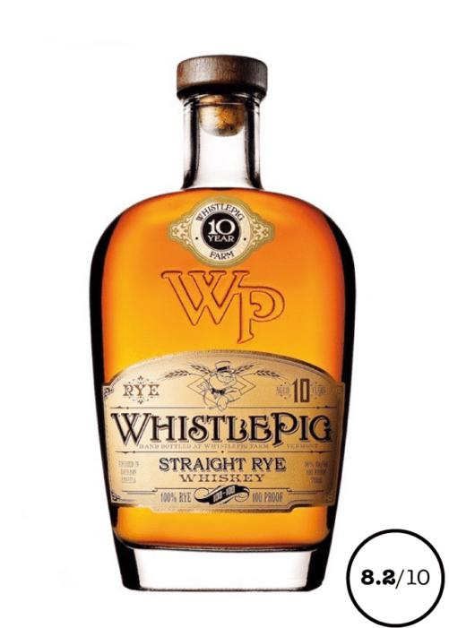 WHISTLE PIG Straight Rye 10 ans whiskey