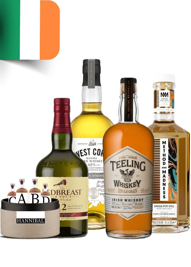 irish whisky tasting box