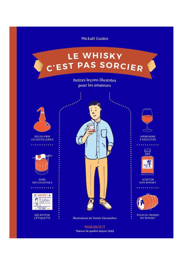 livre le whisky c'est pas sorcier aux éditions marabout