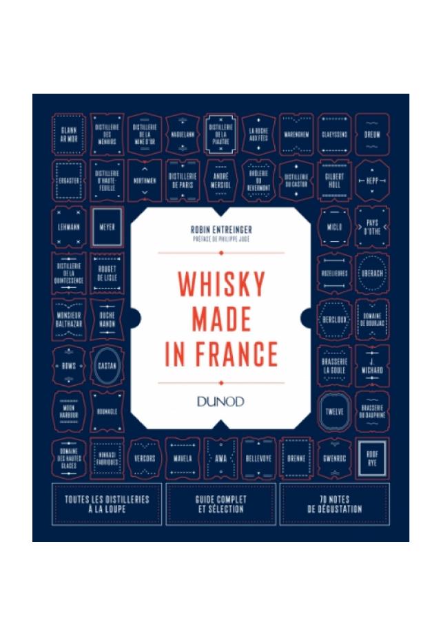 livre sur le whisky made in france