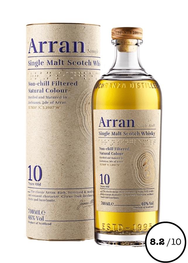 whisky single malt arran 10 ans